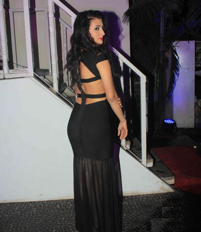 Additi Gupta Hot Pics In Backless Clothes