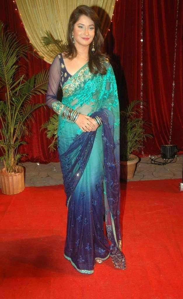 Ankita Lokhande Hot Images In Saree