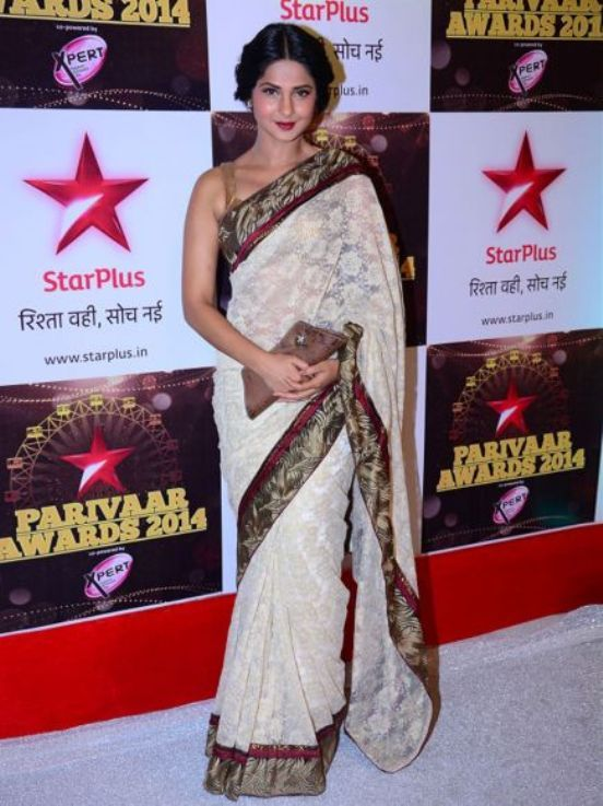Jennifer Winget Hot Images In Saree