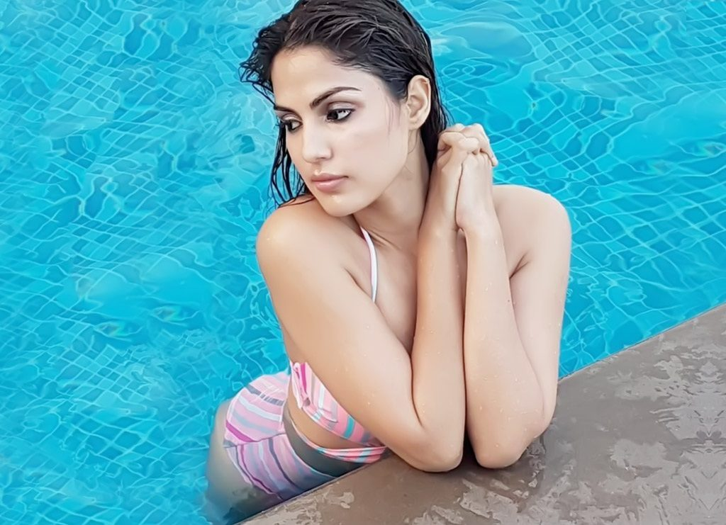 Rhea Chakraborty Hot In Bikini Photoshoot