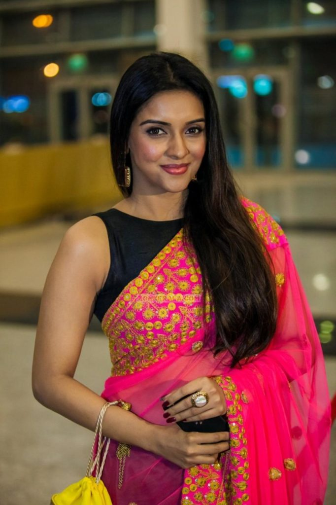 Asin Images In Saree