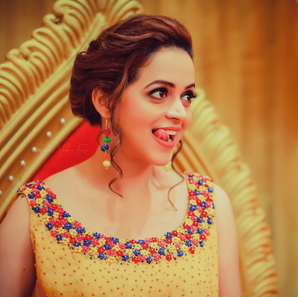 Bhavana Cute Smiling Photos