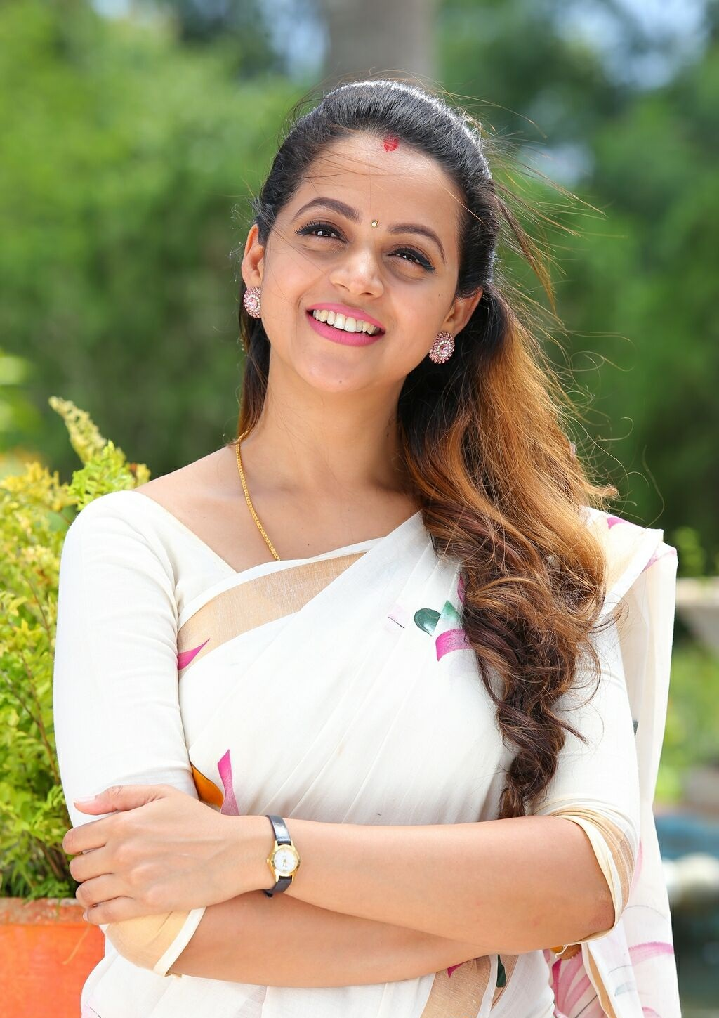 Bhavana Hot Pictures Marriage Pics Latest Photoshoots