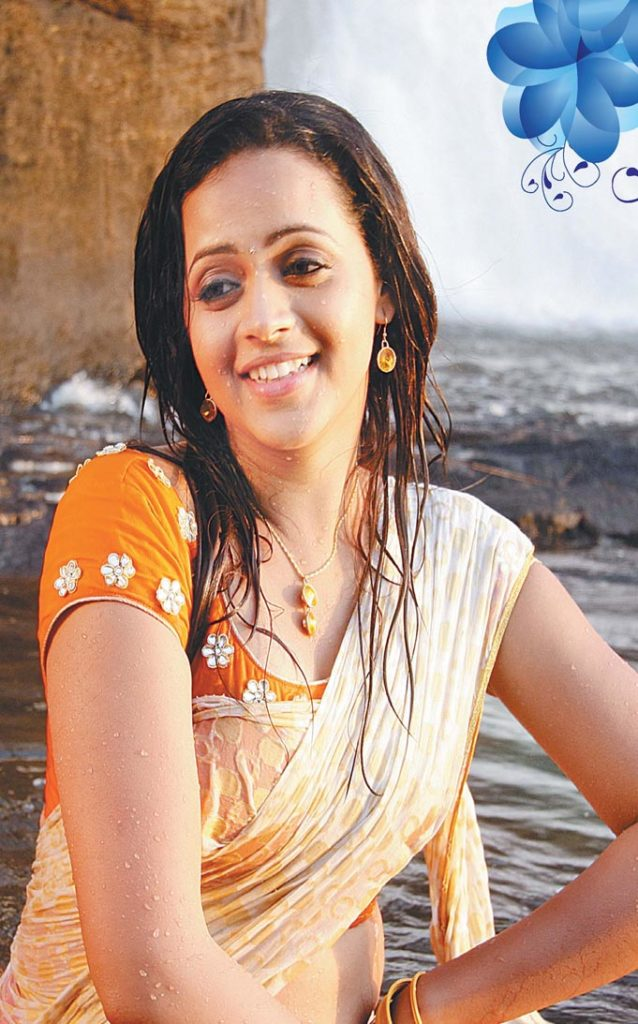 Bhavana Hot Pics Raining