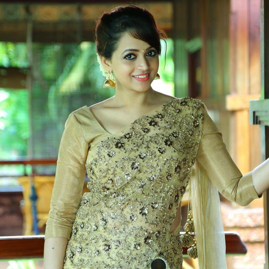 Bhavana Hot Wallpapers In Saree