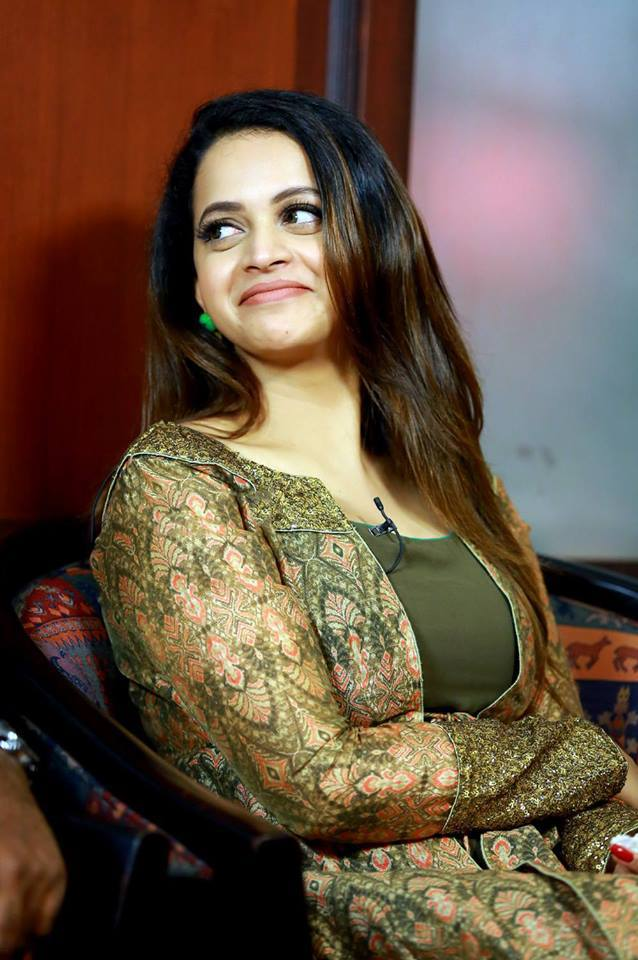 Bhavana Latest Images At Award Show