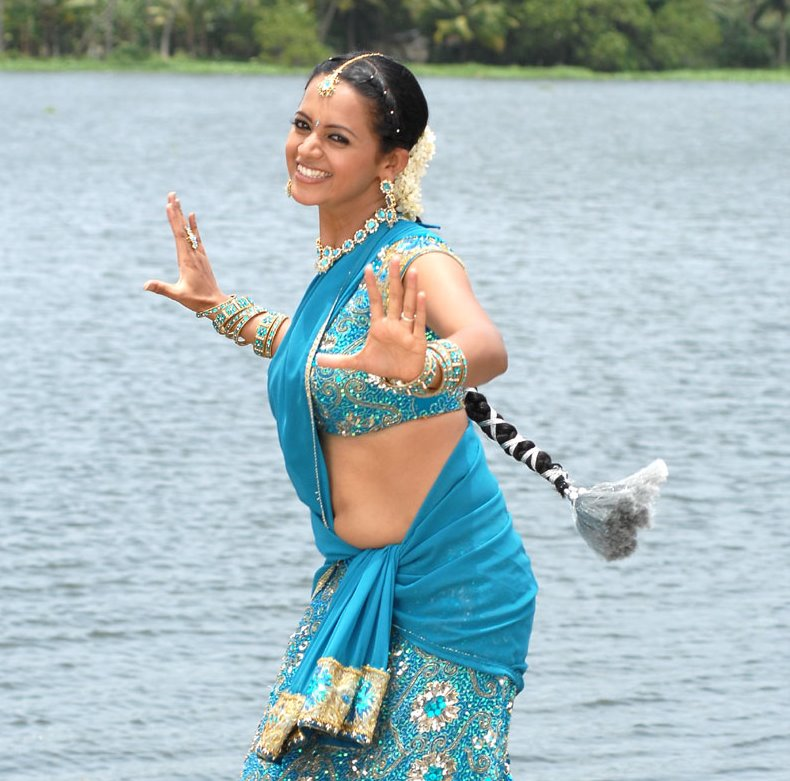 Bhavana Spicy Navel Photoshoot