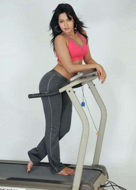 Catherine Tresa Nice Images At Gym