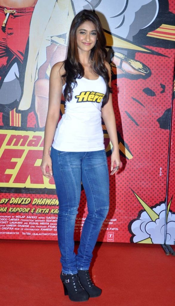 Ileana D'cruz Photos In Jeans Top