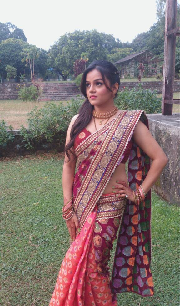 Jayshree Soni Hot Images In Saree