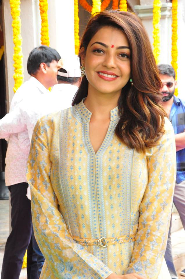 Kajal Aggarwal New Hair Style Pictures Download