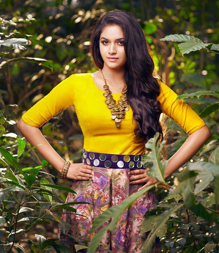 Keerthy Suresh Beautiful Pics In 2018