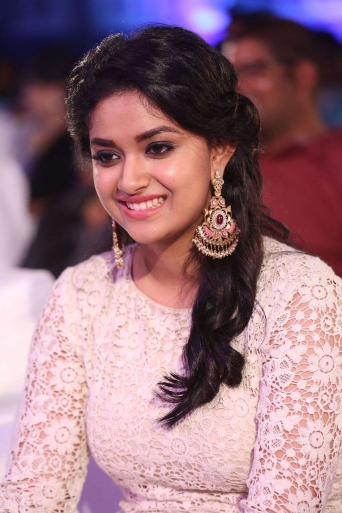 Keerthy Suresh Cute Smiling Photos
