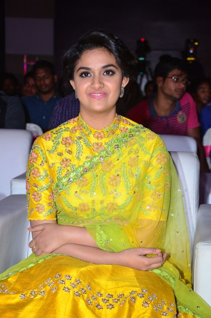 Keerthy Suresh Cute Smiling Photoshoots