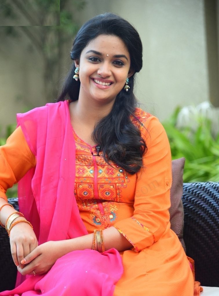 Keerthy Suresh Gogeous Pics For Upcoming Movie