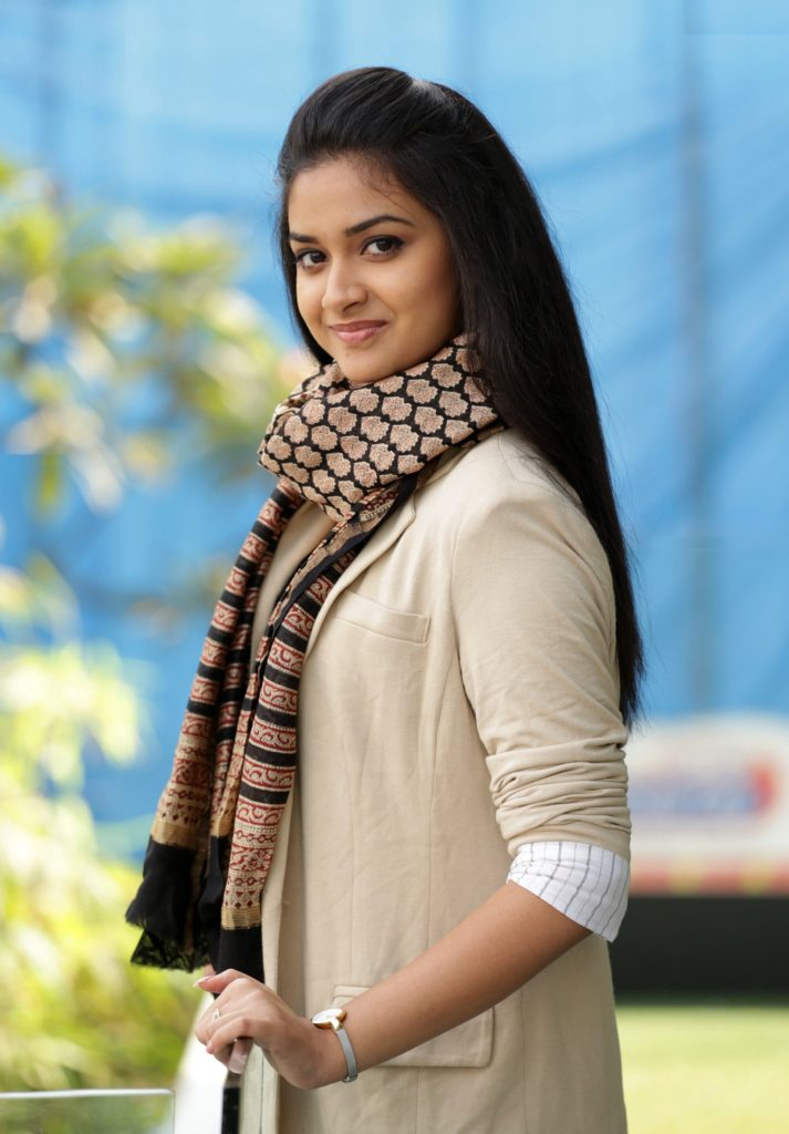 Keerthy Suresh New Hair Style Pics