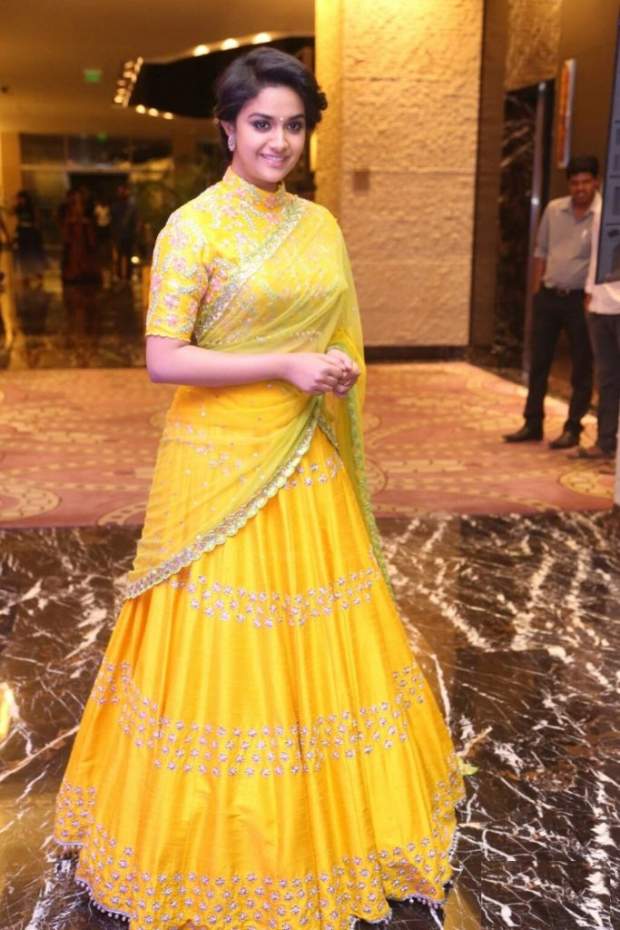 Keerthy Suresh New Look Pictures