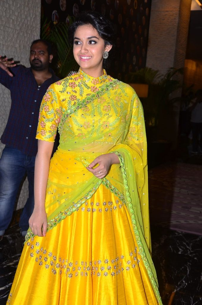 Keerthy Suresh New Pics In Saree