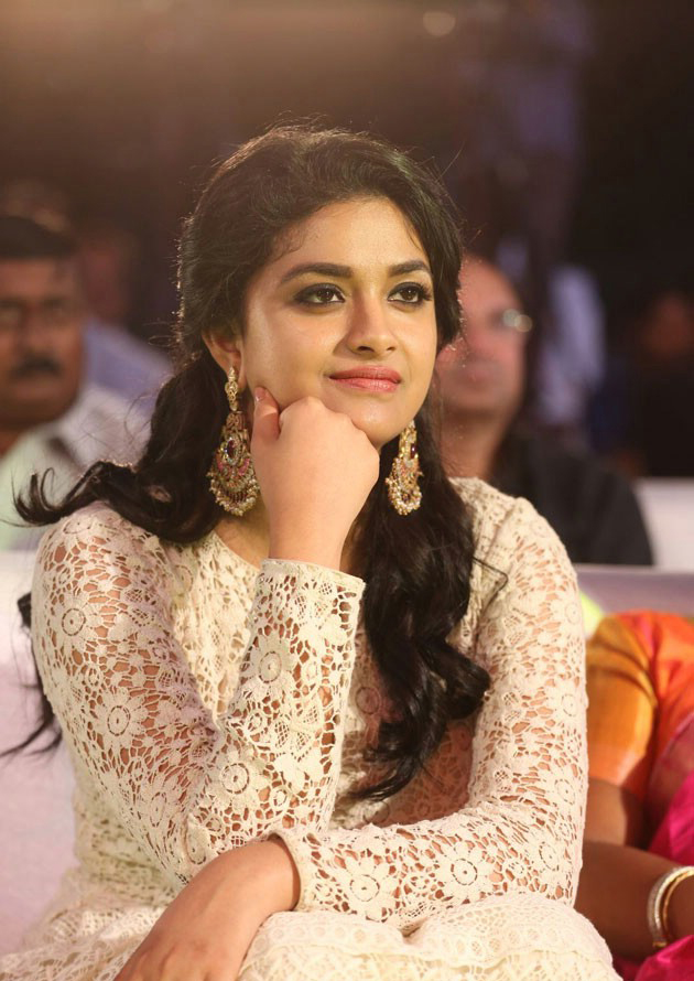 Keerthy Suresh Pictures At Award Show