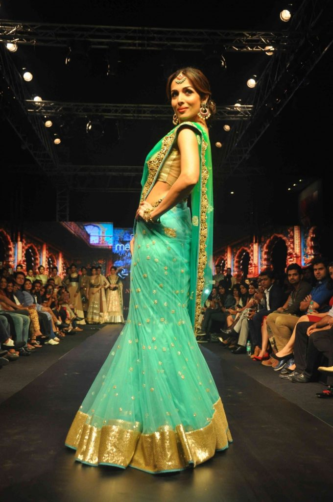 Malaika Arora Hot Images In Green Color Cloths