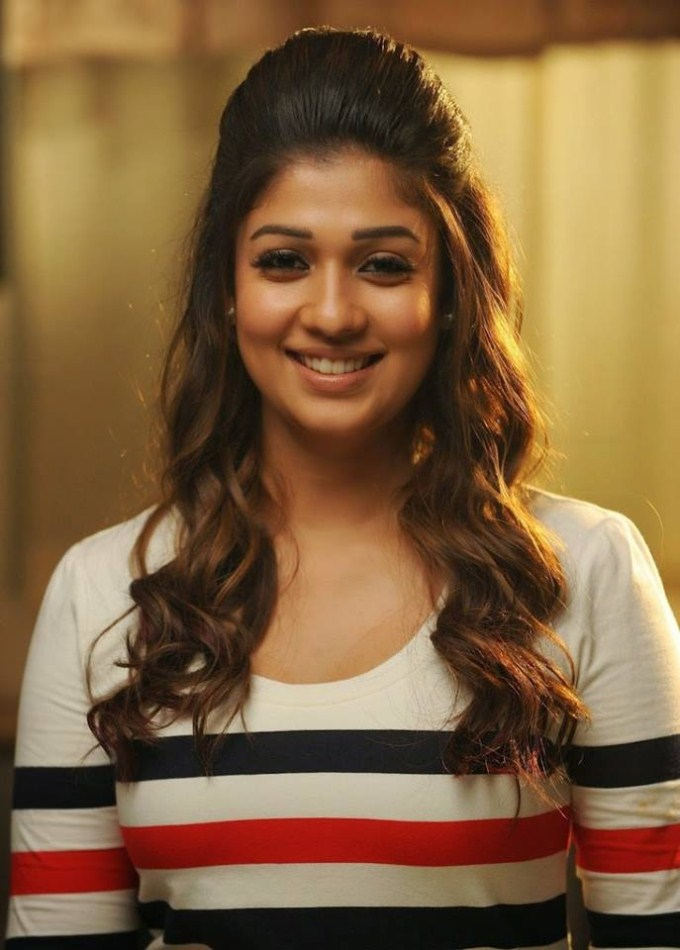 Nayantara New Hair Style Photos