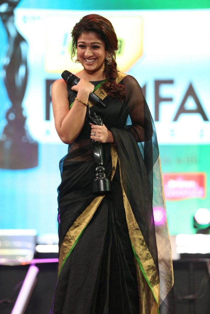 Nayanthara Pics With Award
