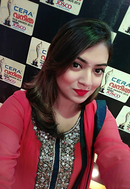 Nazriya Nazim New Look Images For Upcoming Movie