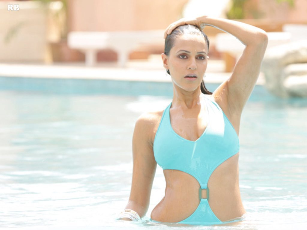 Neha Dhupia In Short Cloths Images
