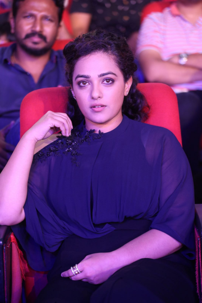 Nithya Menon Beautiful & Cute Pics At Event