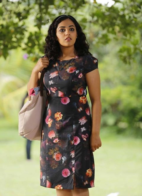 Nithya Menon Hot Pictures In Short Cloths