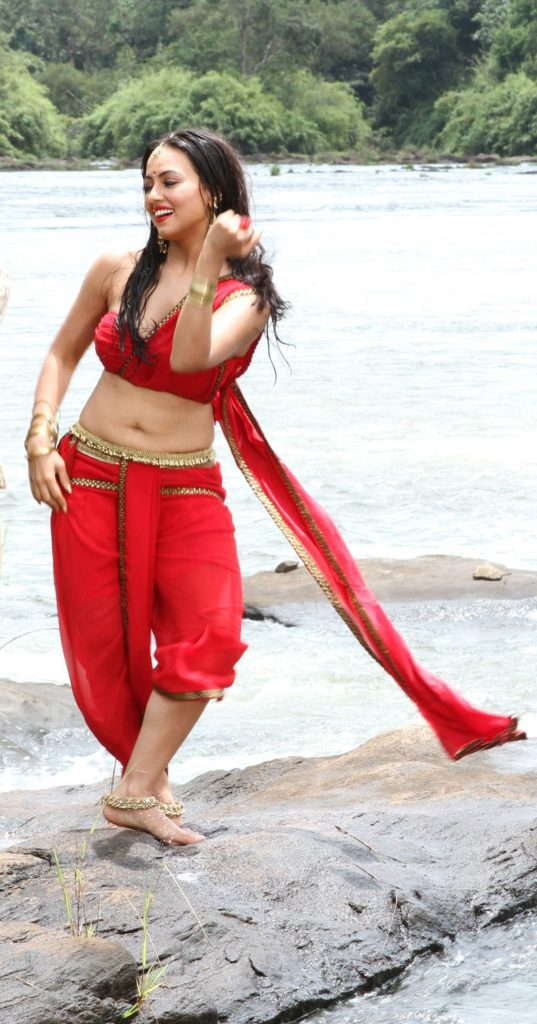 Sana Khan In Bra Panty Photos Download