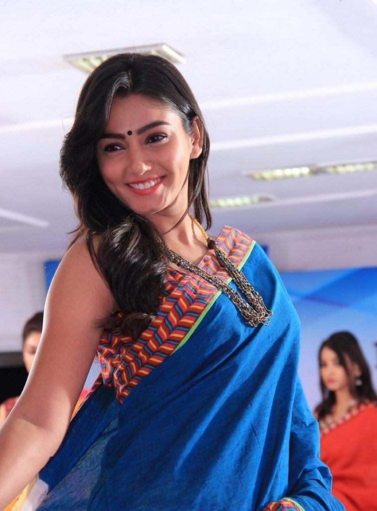 Sana Makbul Hot Images In Saree