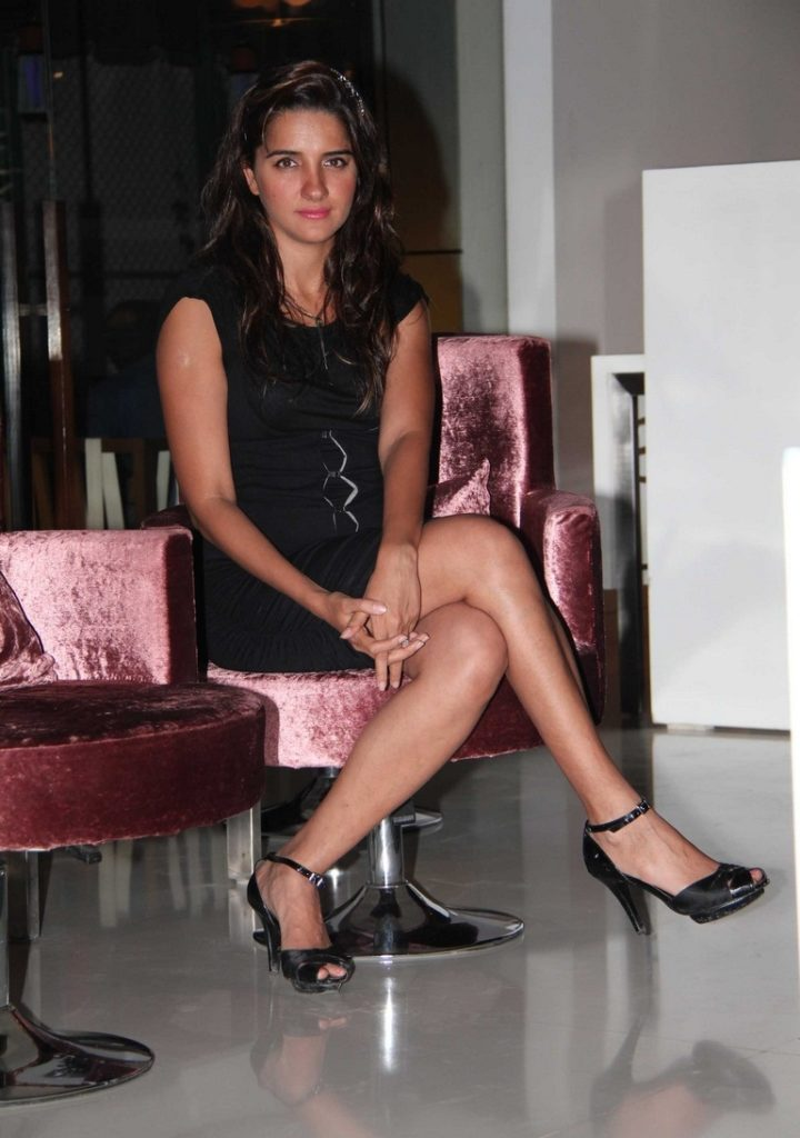 Shruti Seth Hot Boobs & Sexy Legs Pictures HD
