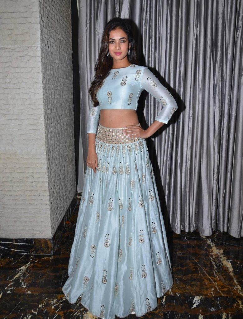Sonal Chauhan Hot Photos Image Pictures In Gagra Choli Images