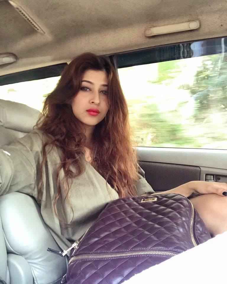 Sonarika Bhadoria HD Images In Car