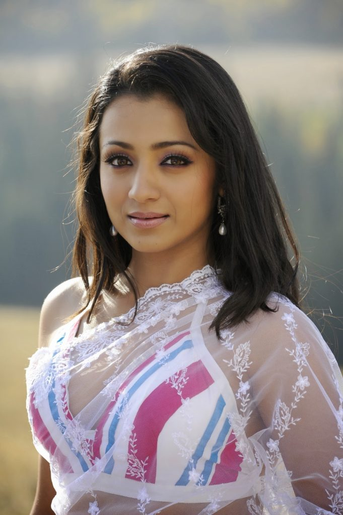 Trisha Krishnan Hot Pics In Bra