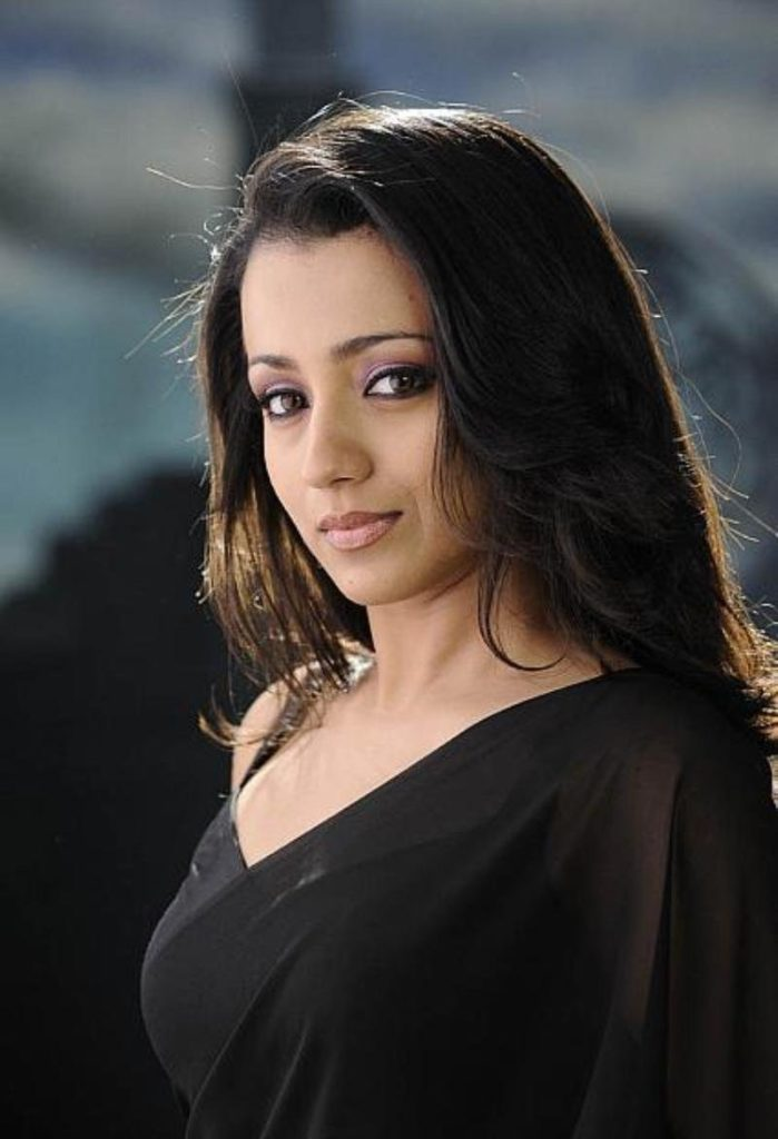 Trisha Krishnan Spicy & Sizzling Pictures In Saree