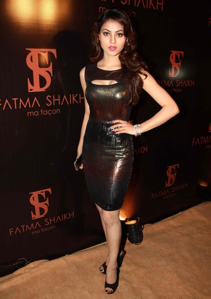 Urvashi Rautela Hot Images In Short Cloths