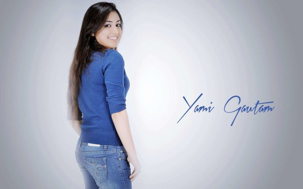 Yami Gautam Beautiful Look In Back Side Photos Images