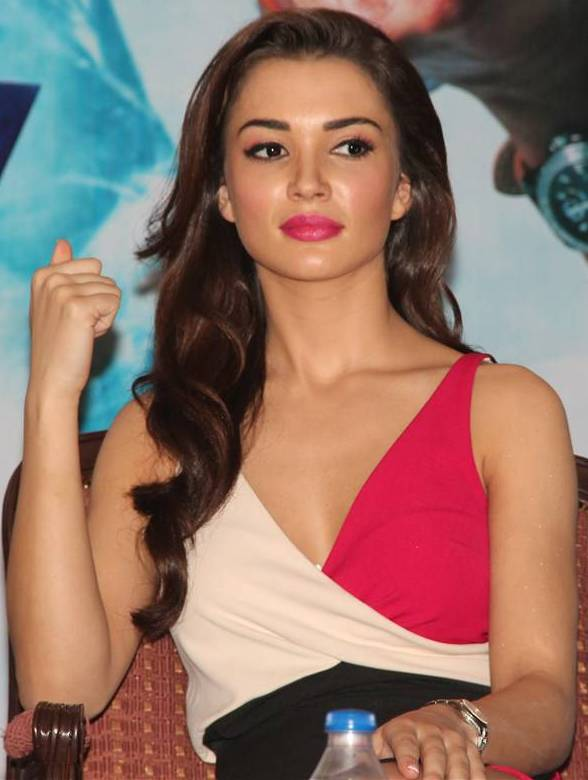 scenic amy jackson hot images at award show