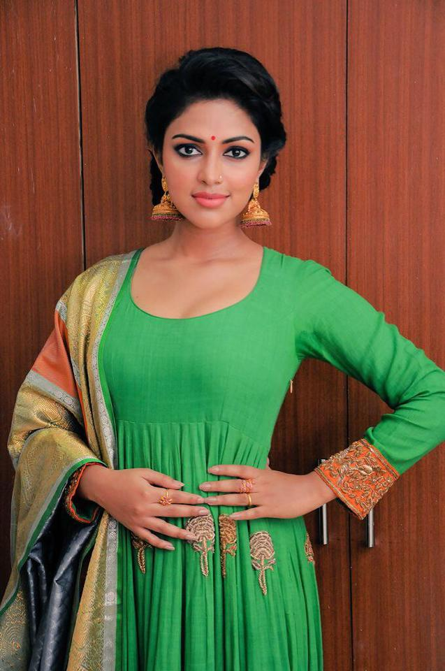 Amala Paul In Salwaar Kameez