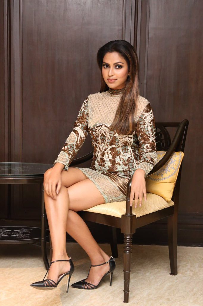 Amala Paul In Shorts Pics