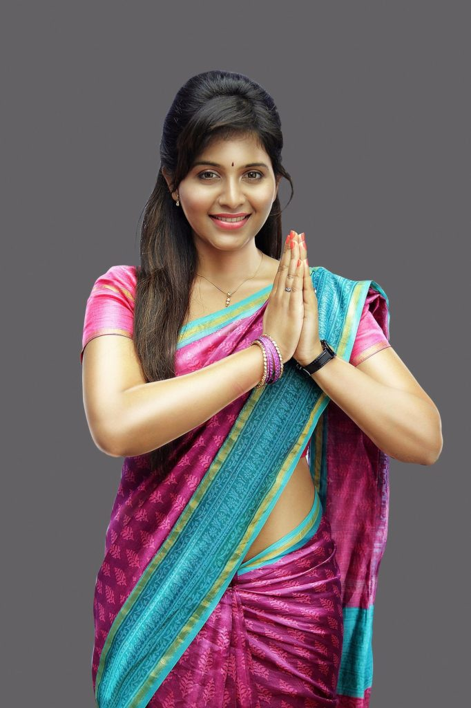 Anjali In Saree Photos