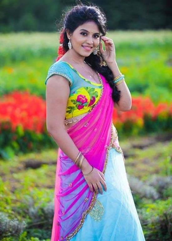 Anjali Pictures In Saree