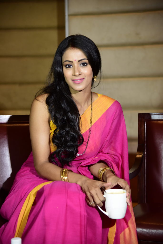 Barkha Sengupta In Saree Photos