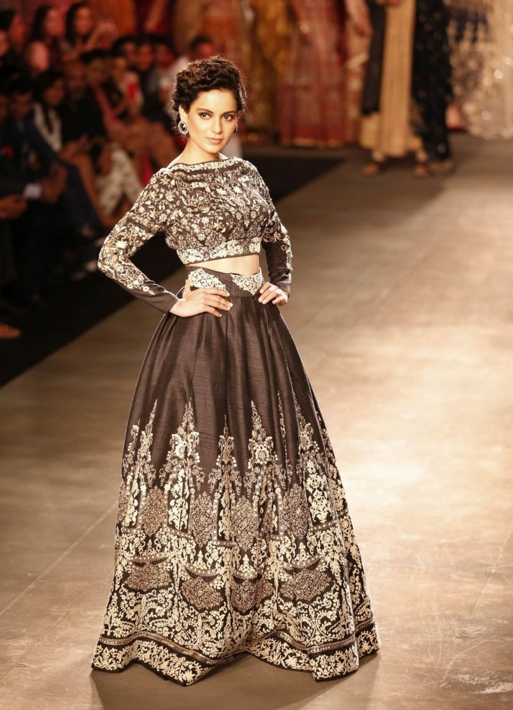 Beautiful Kangana Ranaut At Ramp Walk Pictures