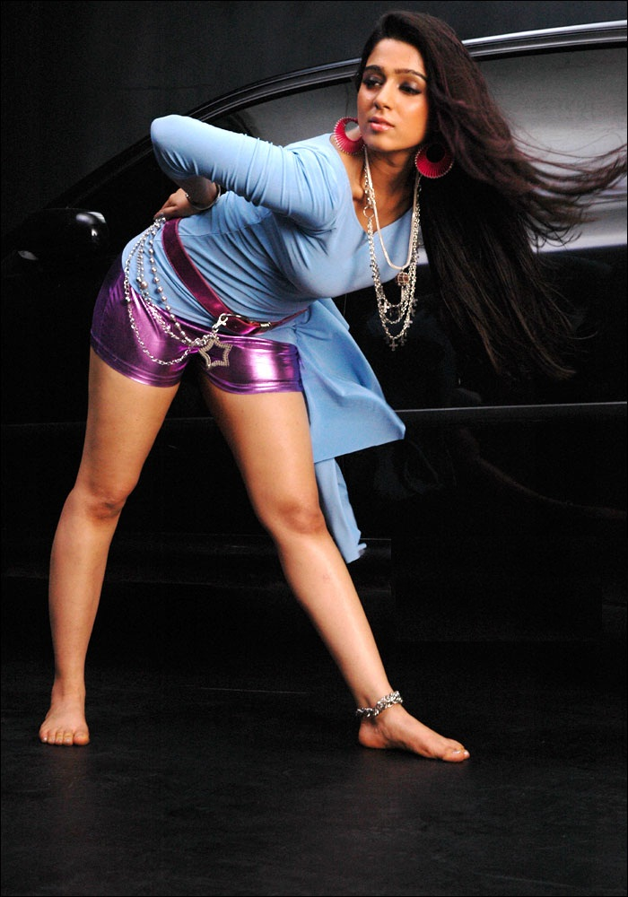 Charmi Kaur Hot HD Sexy Thigh Pics