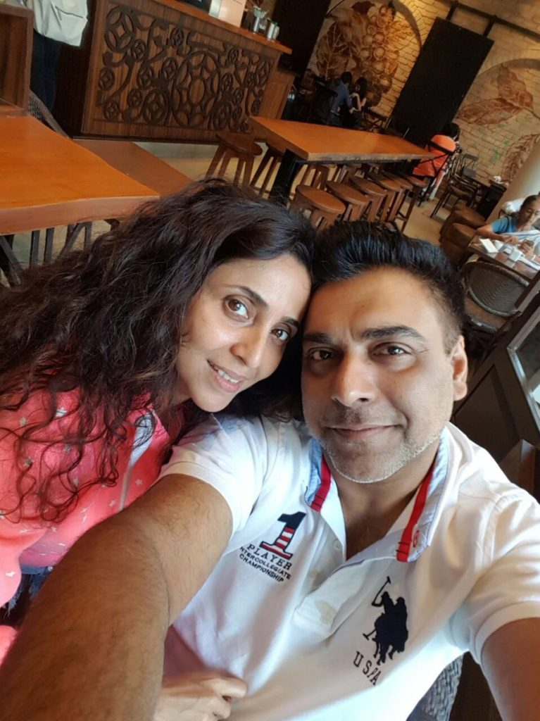 Gautami Kapoor Images With Ram Kapoor