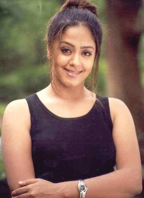 Jyothika In Gym Clothes Bold Photos
