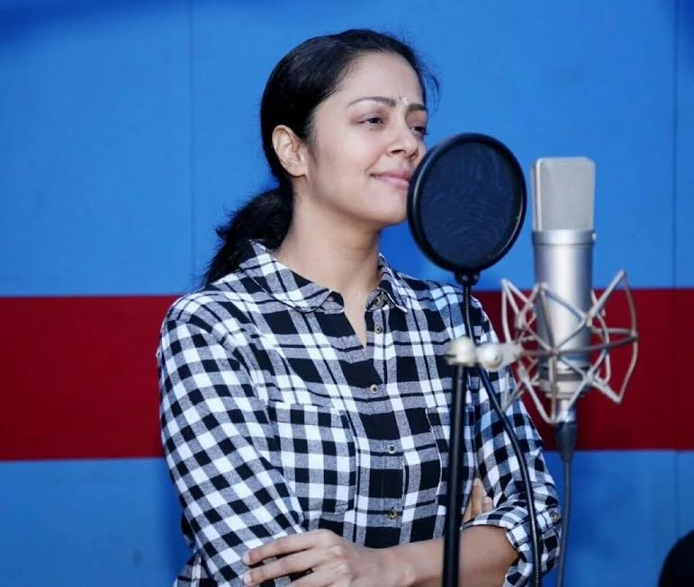 Jyothika Singing Images